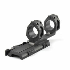 Quick Detach Cantilever Scope Rilfe Mount 25mm-30mm Dual Ring Rail Auto Lock