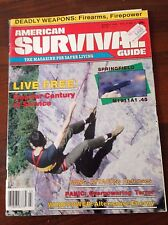 R27> American survival guide - march 1986 - Springfield M1911A1.45