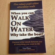 LISA DIANE, WHEN YOU CAN WALK ON WATER, WHY TAKE A BOAT?