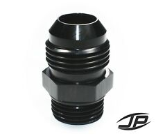 ORB-8 O-ring Boss AN8 8AN  to AN10 10AN  Male Adapter Fitting Black