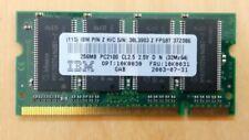 Infineon(IBM) 256MB PC2100 266MHz Laptop Memory Ram 10K0031