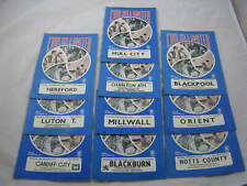 More details for carlisle united programmes ( season 1976-77.division two) x 10