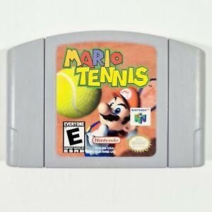 Nintendo 64 Cartridge MARIO TENNIS Genuine US Version Sport/Multiplayer/Kong