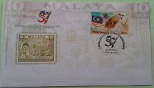 Malaysia 2014 57th Independence Celebration ~ FDC