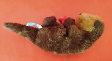 Small Plush Sea Otter holding Red Starfish