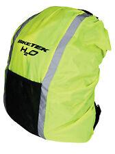 BIKE IT Waterproof Rucksack Cover Yellow Waterproof Backpack Cover Hi-Vis Cover