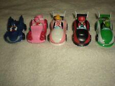 "2008 Nintendo Mario - Peach - Yoshi & More TOMY T-ARTS Action Cars (2 1/4"")"