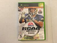NCAA Football 2005 / Top Spin Tennis Xbox video game limited edition