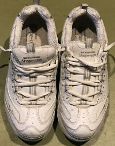 Skechers Shape Ups Womens 8 White Walking Shoes