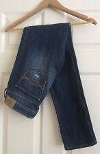 Abercrombie & Fitch Dark Denim Distressed Skinny Jeans Size 4