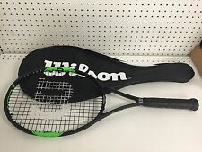 Wilson Tour BLX 103 Tennis Racquet with Carrying Case Black/Green **Best Price**