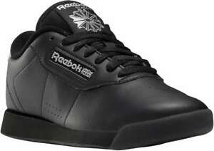 Reebok Women's Princess [ Black/Silver Met/Black ] Fashion Sneakers - GY1192