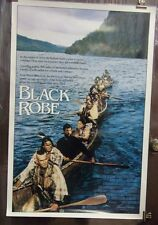 Black Robe Original 1991 Single Sided Movie Poster Lothaire Bluteau Rare