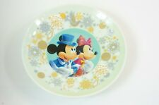Tokyo Disney Resort Souvenir Plate Christmas Wishes 2012 Mickey Minnie