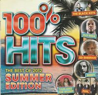 Various Artists - 100% Hits - The Best of 2012: Summer Edition CD