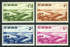 Viet Nam South 166-169,MI 243-6,MNH. Opening Saigon-Bien Hoa Highway Bridge,1961