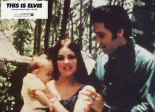 ELVIS PRISCILLA PRESLEY 1981 THIS IS ELVIS VINTAGE LOBBY CARD #8