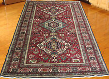 """4'6""""x6'11""""Genuine Persian Tribal Ardebil Hand Knotted Area Rug"""