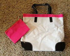 BRAND NEW - Stylish Beach Tote or Purse w/matching Cosmetic Bag