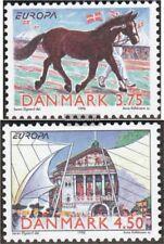 Danemark 1188-1189 (édition complète) neuf 1998 fêtes et jours fériés