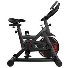Exercise Bike Fitness Gym Indoor Cycling Stationary Bicycle Cardio Workout w/LCD