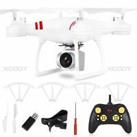 New HD Camera Drone Quadcopter 2.4Ghz Wifi PFV 6-Axis Gyro Headless Mode RC Fly
