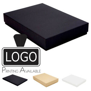 A4 Luxury Rigid Presentation Stationery Gift Box 20mm/53mm, Printing Available