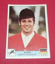 N°280 ALWIN SCHOCKEMÖHLE EQUITATION PANINI MONTREAL 76 JEUX OLYMPIQUES 1976 JO