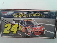Racing Reflections NASCAR #24 Jeff Gordon Hendrick Motorsports car license plate