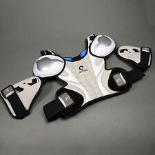 Evolve 311 Lacrosse Shoulder Pad SR Small White/Silver/Blue (NEW) Lists @ $69.99