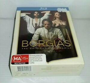 THE BORGIAS: SEASONS 1 - 3 (2011) [NEW BLURAY]