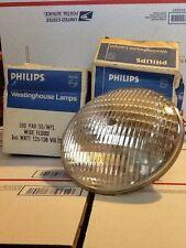2 Philips Westinghouse Lamps 300 Watt PAR 56/WFL Wide Flood 125-130 Volts