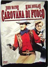 Dvd Carovana di fuoco con John Wayne e Kirk Douglas 1967 Usato raro