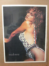 Vintage Madonna poster pop music singer song writer  7419