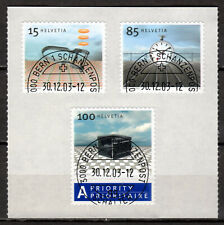 Switzerland - 2003 Definitives design classics - Mi. 1861-63 VFU on foil