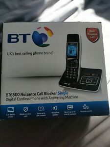 BT 6500 Cordless Phone with Answering Machine & Nuisance Call Blocker new