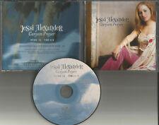 JESSI ALEXANDER Canton Prayer PROMO Radio DJ CD Single Miley Cyrus 2005 USA MINT