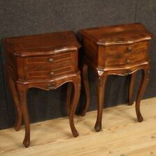 Pair Of Nightstands Veneti Furniture Coffee Tables Wooden Antique Style Room 900