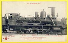 "cpa LOCOMOTIVE ""Marignan"" TRAIN CHEMINOTS Chemin de Fer de l'EST vers 1910"
