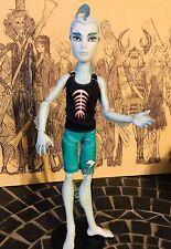 Monster High Skull Shores Gillington Gil  Webber Boy Doll