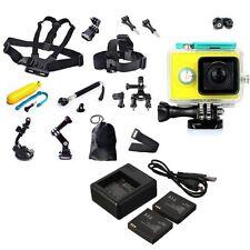 XiaoMi Yi Sport Helmet Action Camera 16MP 1080P Wifi Green +Accessories Kit HOT
