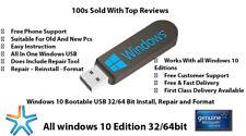 Windows 10 AIO Bootable Usb 3.1/3.0 100% Genuine+Support 100%Buyer satisfaction