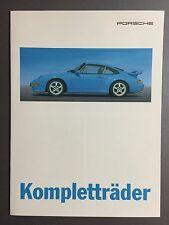 1995 Porsche 911 Kompletträder Folder / Brochure German RARE!! Awesome L@@K
