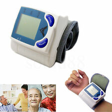 Electronic Wrist Cuff LCD Digital Memory Blood Pressure Pulse Monitor Testing