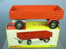 """DINKY TOYS MODEL No.428  LARGE TRAILER  """" FINAL RED VERSION """"     MIB"""