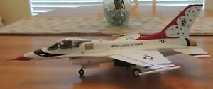 FINISHED MODEL OF F-16C THUNDERBIRDS  FREE SHIPPING