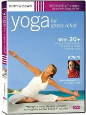 Yoga For Stress Relief DVD Workout Barbara Benagh,Dalai Lama.