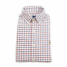 NEW Ralph Lauren Button Front Gingham Oxford Shirt Small S Blue Red White $98