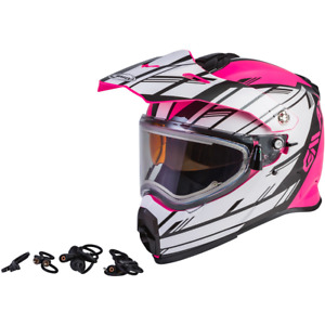 Gmax AT-21S Epic W/Electric Shield Snow Adventure Touring Motorcycle Helmet