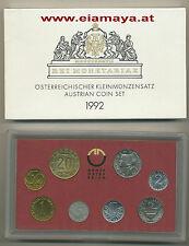Kursmünzensatz Republik Österreich KMS MINT SET 1992 HGH Eiamaya.com